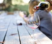 Glass of Wine- Tasting