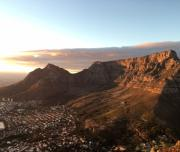 Table mountain + Cape town City