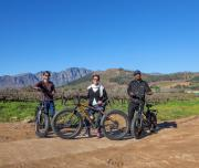 e-Bike in winelands