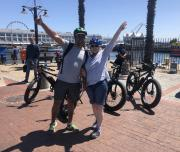 waterfront, city tour, e-bike