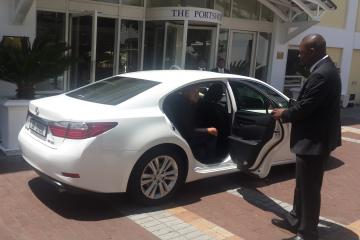 Luxury transfer Cape Town Airport to Cape Town