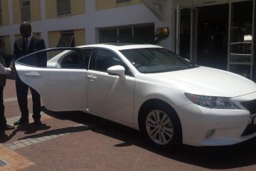 luxury transfer cape town city to cape town airport