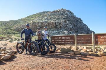 E-bikes at Cape Town